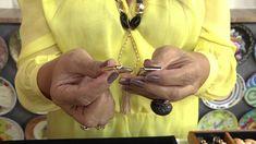 Aprenda a fazer um lindo colar com pedras naturais!