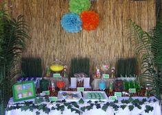 Jungle Themed Dessert Buffet