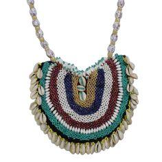 Seashell Jeko Moti Necklace for Chaniya Choli. Garba Dance, Key Chain, Sea Shells, Different Colors, Jewelry Design, Jewellery, Boho, Beads, Pendant