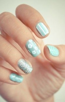 springtime nail art