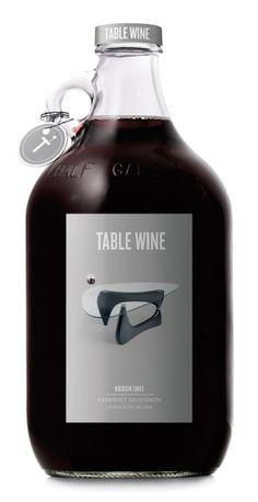Creatividad en #etiquetas de #vino.  Es evidente, es #vinodemesa