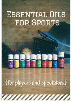 Must-Have Essential Oils for Sports + On The Go - We cant leave home without these!