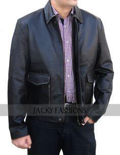 http://www.ebay.com/itm/Indiana-Jones-4-Harrison-Ford-Genuine-Leather-Jacket-Dark-Brown-FREE-GIFT-/261725232173  Inspired greatly by the blockbuster Hollywood film, Jackyfashions present a wonderful Indiana Jones 4 leather jacket  #IndianaJones #Jackyfashions #Hollywood