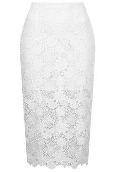 yes to this: lace pencil skirt.