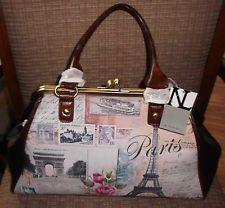 Nicole Lee Paris Satchel Handbag Purse Nwt 90 Handbags Cute Purses