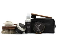 Compliment your footwear with a selection of Hudson Shoes shoe care items, simply configure your own care kit.