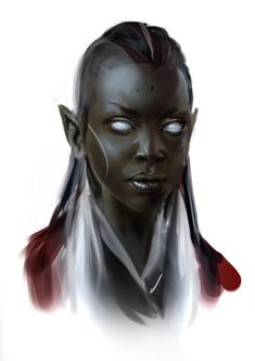 Inspiration for Fel / Night Elves