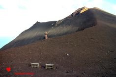 The #Stromboli volcano seen from the #Ginostra side.