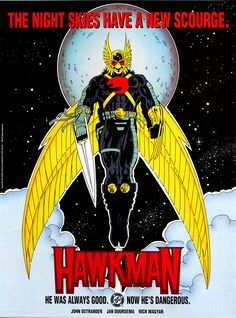 Hawkman volume 3 poster John Ostrander