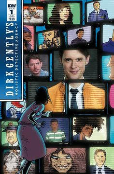 Dirk Gently Salmon Of Doubt #1 Sub Variant