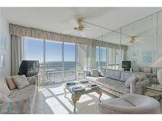 140 Seaview Ct #1701, Marco Island, FL - $449,000, 2 Beds, 2 Baths. Great uninterrupted direct views over Marco Islands Crescent Beach and turquoise waters of Gulf of Mexico. Enjoy year-round sunsets from your balcony and living area. Second balcony has views of the Island, beautiful night lights and sunrise views. Wonderful end unit. New stainless appliances in kitchen. Updated common areas with large resort...
