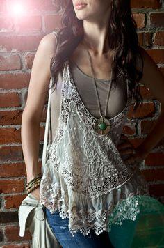 CarahAmelie - Outfit Ideas - Outfit Ideas - Bohemian Lace -7/15/12