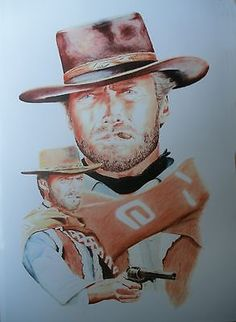 Clint Eastwood The Good The Bad & The Ugly Ltd. edition print