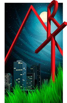 CCAD Vector Illustration by Justin Marimon, via Behance