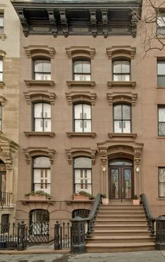 Old World, Gothic, and Victorian Interior Design: Victorian and Gothic interior design pictures New York Brownstone, Brooklyn Brownstone, Brooklyn New York, Brownstone Homes, Gothic Interior, Interior Design, City Living, Classic House, Old World