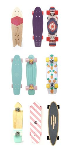 I know these aren't long boards but I think they're pretty. :)
