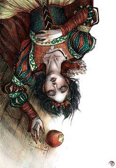 Snow White by Ink-Yami.deviantart.com on @DeviantArt