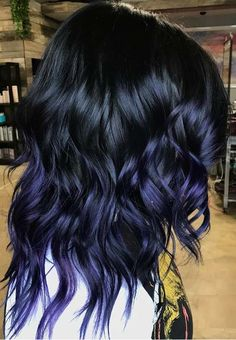 38 Awesome Deep Purple Hair Color Ideas in 2018