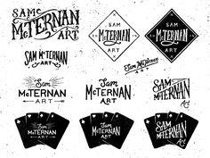 Sam McTernan Art Logo