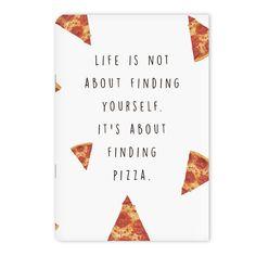 Un cuaderno para llenar con una oda a tu comida favorita. | 27 Productos para los que están completamente obsesionados con la pizza