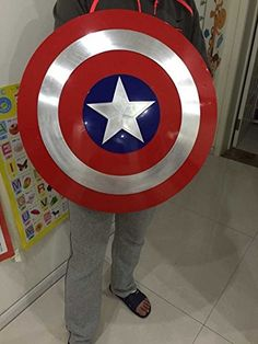 Gmasking Captain America Adult Shield Metal 1:1 Prop Replica -- Review more…