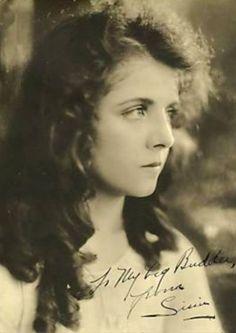 Olive Thomas, signed.