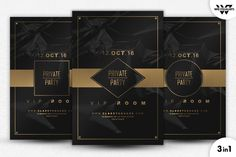 PRIVAT VIP Flyer Template by WG-VISUALARTS on @creativework247