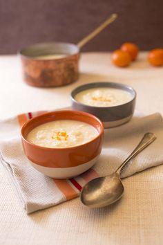 Photo de la recette: Velouté de chou blanc au comté et à l'orange