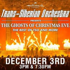 The holiday tradition Trans-Siberian Orchestra returns to Van Andel Arena this December 3rd with two shows!