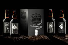 4 Pines Brewing Co. - The Black Box on Packaging of the World - Creative Package Design Gallery