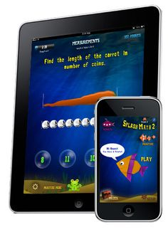 Very nice iPad and iPhone app for learning math grades 1 through 5. My second grader loves it! There are a lot of the questions from his second grade curriculum and different difficulty levels. When he answers questions correctly he earns fish and crabs for his virtual aquarium - a nice reward for a smart little boy.