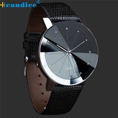 #Men's #Casual leather band #watch only $18.25 Free Delivery 20% off with email address