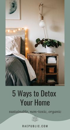 Have you ever considered the toxins in your home? Flame retardants, VOC's, pesticides, and more. Here we dive into 5 impactful ways to #detox your home and make it as #nontoxic as possible. #ecofriendlyhome #sustainableliving #ecomom Detox Your Home, Interior Design Advice, Living Styles, Eco Friendly House, Cushions On Sofa, Sustainable Living, New Furniture, Zero Waste, Houses