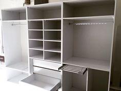 Led aydınlatma ve gömlek askı aparatları ile gardolabımız  #furniture #mobili #homedecor #raydolap #design #interiors