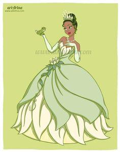 Princess Tiana - Disney fan art collection by ariartna on DeviantArt