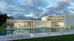 WOW. #contemporary #home + #pool | Kfar Shmaryahu | Pitsou Kedem Architect