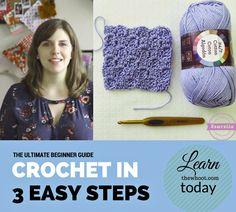 How To Crochet In 3 Easy Steps
