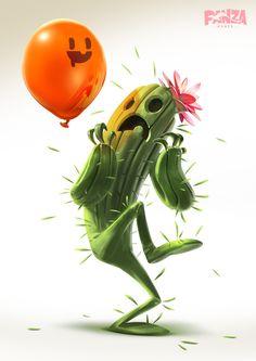 Globophobia, Panza Games on ArtStation at https://www.artstation.com/artwork/KRKGR ★ Find more at http://www.pinterest.com/competing/