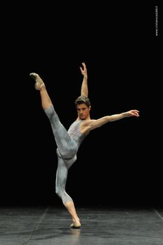 "WOW!!!!!!!! Other photos of Claudio Coviello in ""Sagittarius"", contemporary solo choreographed by Massimiliano Volpini and performed at Spoleto Dance Competition in 2010."
