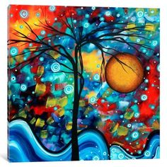 iCanvas Sweet Serenity Gallery Wrapped Canvas Art Print by Megan Duncanson