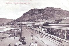 Kalk Bay station......many moons ago - Cape Town. #KalkBay #station