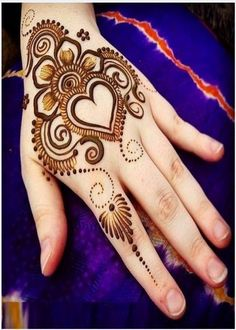 442 Best Brides Mehndi Pattren Images In 2019