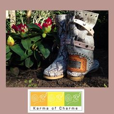 A wonderful spring day with Pitone #karmaofcharme boots! Love them! @Karma of Charme Official Brand