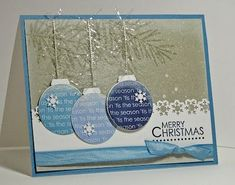 Joyful Creations with Kim: Freshly Made and colourQ: Reindeer and Ornaments