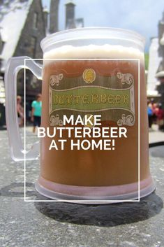 Love butterbeer on a trip to the Wizarding World of Harry Potter at Universal? Bring your favorite theme park treat home with these two easy frozen butterbeer recipes that are just as good as the real thing!