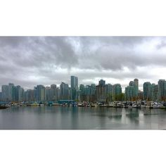 Kyle is enjoying a weekend in Vancouver. Looks rad! Taken during his bike ride in the rain.  #vancouver #bc #travel #travelphotography #realtor #remax #vegas