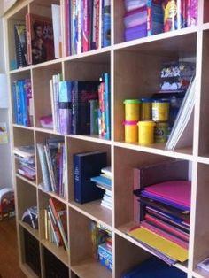 Great Homeschooling Links: Homeschool Room Organization Ideas