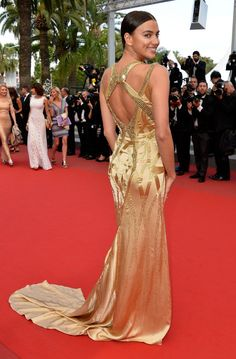 Pin for Later: The Very Best Style Moments From Last Year's Cannes Red Carpet Irina Shayk