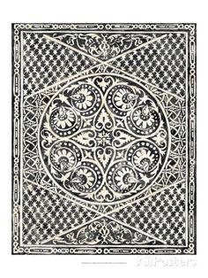 Woodcut in Black II Prints by Chariklia Zarris at AllPosters.com