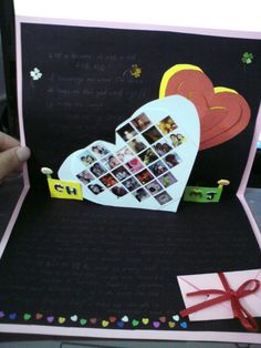 My DIY birthday card for my love ones <3